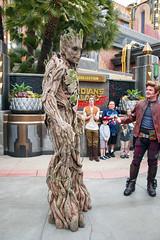 Guardians of the Galaxy - Mission: Breakout! in DCA (GMLSKIS) Tags: disney california dca disneycaliforniaadventure guardiansofthegalaxy nikond750 groot