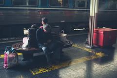 Still Waiting - Explore 05/07/17 (Ynosang photo) Tags: thailand thialnde gare bangkok railway sony a7 40mm hexanon ynosang
