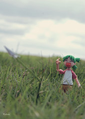 What do you want to be when you grow up... (Kelvin ) Tags: dream yotsuba paperplane  yotsubakoiwai revolteh