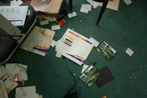 Old school FedEx letter envelope