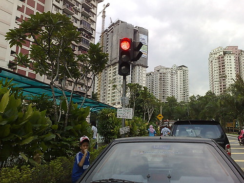 Lampu isyarat paling mesra pejalan kaki.