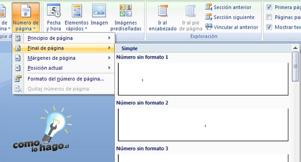Cómo Lo Hago | Cómo dominar la numeración de páginas en Word