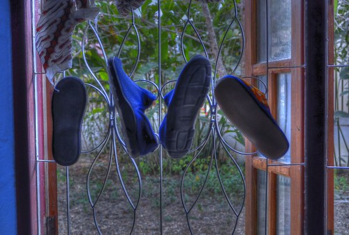 hanging slippers