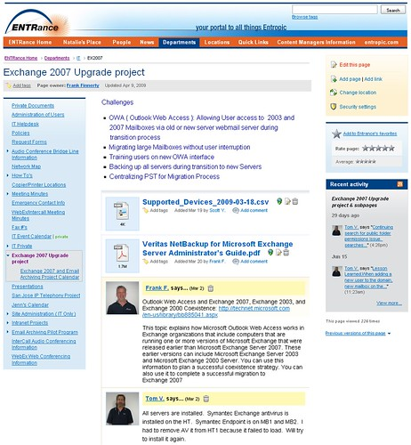 sharepoint intranet portal case study