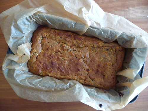 zucchini apple carrot cake