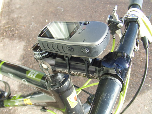 Garmin GPS rail clamp modification
