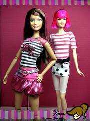 Adiós Rosado, Negro y Blanco! (Knena) Tags: dolls barbie diva diorama steffie muñecas fashionistas pinkblackandwhite loladoll fashionfever steffiefacemold hannamontanadoll teresadoll divafacemold knena raquelledoll rosadonegroyblanco