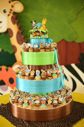 Frupcakes Cupcake Tower