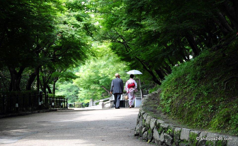 Stroll in Kyoto.