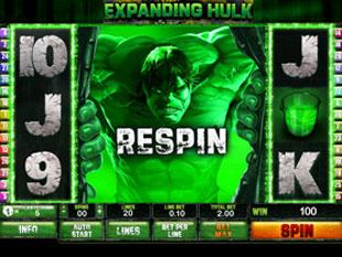 free Incredible Hulk expanding wild