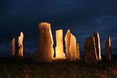 Callanish at night (- Hob -) Tags: longexposure light lightpainting art megalithic scotland perception movement standingstones time space july memory nophotoshop prehistoric callanish isleoflewis hebrides stonecircle fromthearchives lewisiangneiss straightoutofcamera orthostatic oldestrocksintheworld timeandmind