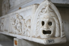 Vatican Museum (h_savill) Tags: old winter italy vatican rome roma art history archaeology statue stone museum ancient italia december mask roman visit tourist carving collection empire sarcophagus marble artifact 2009 hollow vaticanmuseum artefact facebook