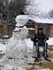 Snow Band (SeekayofRome) Tags: snow snowman rockband