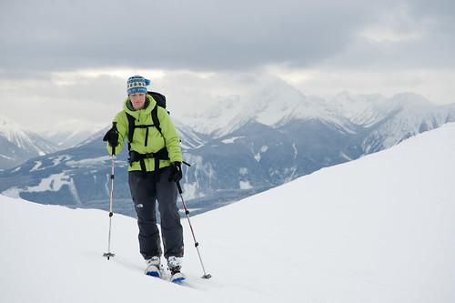 Tyax New Years Cinnabar Basin Ridge-a-rama Skiing Jan 2 2010   -13