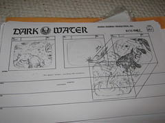(Pirates of) Dark Water storyboards: Episode 1 - The Quest (andorus) Tags: art concept conceptual darkwater storyboard storyboards thequest hannabarbera piratesofdarkwater
