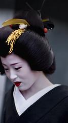 Kamishichiken Shigyoshiki '10 #8 (Onihide) Tags: japan kyoto maiko geiko    kamishichiken  kagai shigyoshiki  onihide ichimme