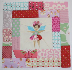 Sew Kid at Heart Block for Susi & Jamie (skovy) Tags: quilt fairy block paperpiecing quiltingbee sewkidatheart