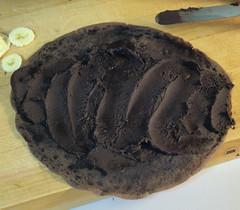 Chocolate Mascarpone and Banana Crepes