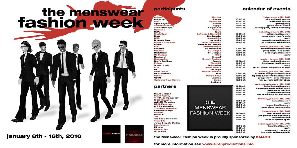 Menswear Fashion Week