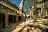 Roots infested temple (Souvik_Prometure) Tags: cambodia angkorwat angelinajolie siemreap angkor phnombakheng tombraider taphrom preahkhan banteaysrey banteaysrei banteaykdei sigma1020mm angkorian bayontemple abigfave platinumphoto anawesomeshot nikond90 flickrdiamond tahphrom souvikbhattacharya