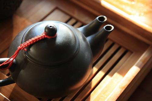 老闆的茶壺真特別