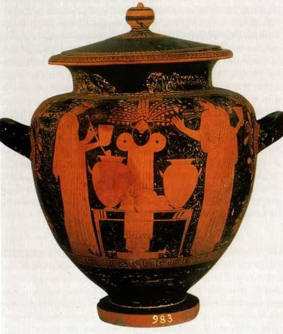 Stamnos-Ritual ante Dionyos-Roma