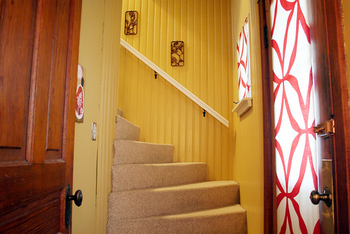Our Front Entry & Stairway