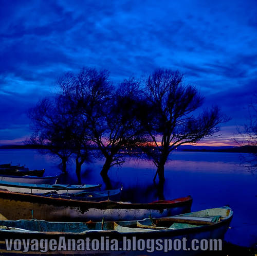 Dusk at Lake by voyageAnatolia