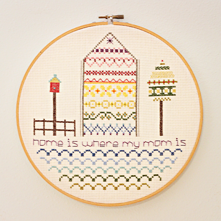 my first cross stitch design