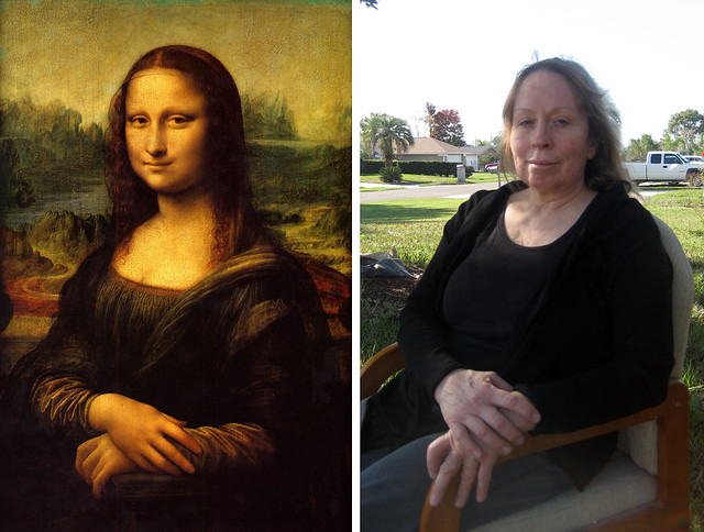 11 - Mona Lisa by Da Vinci and Stein