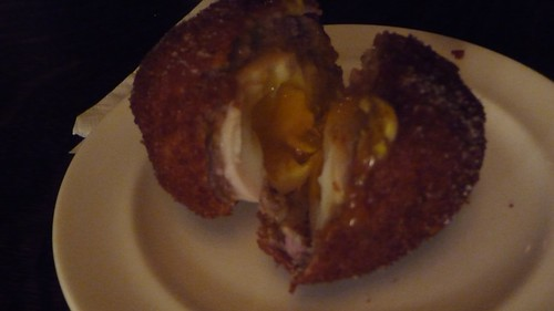 Scotch egg at The Breslin