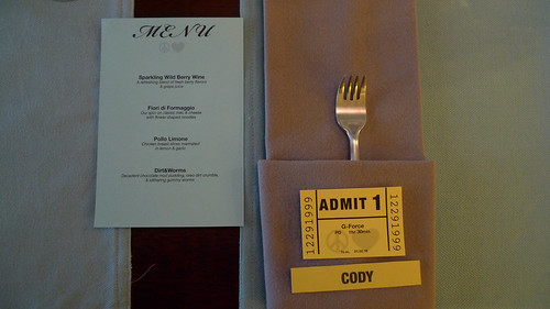 Cody's birthday dinner party