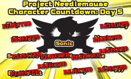 Project Needlemouse - Countdown Day 5