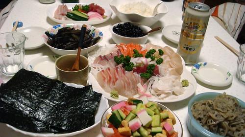 大晦日の晩餐2009 - chihaya