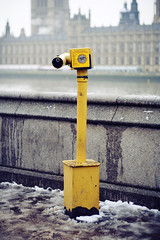 (morgan.laforge) Tags: winter snow london yellow houseofparliament