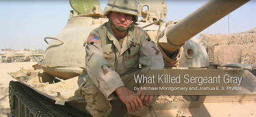 "American RadioWorks: ""What Killed Sergeant Gray"""
