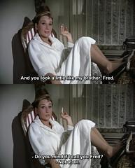 Breakfast at Tiffany's (1961) (pineappleupsidedown) Tags: audreyhepburn screencap picspam subtitle breakfastattiffanys