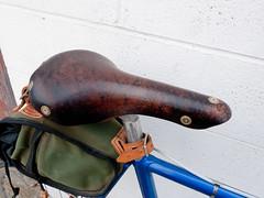 Eisentraut Berthoud Saddle angle (rperks1) Tags: bicycle modela vintage phil steel berthoud lugs eisentraut acornbags