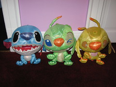 Disco ball Stitch, Bonnie & Sparky