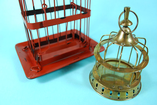 Painted Brass Decorative Birdcage3