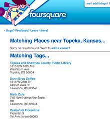wifi tag in foursquare