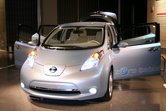 Nissan Leaf Electric Car Priced at $32,780