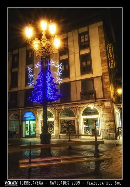 Torrelavega - Plazuela del Sol - Navidades 2009