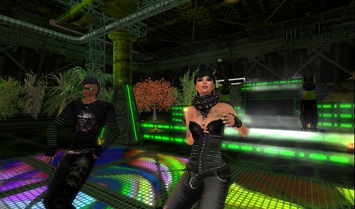 dj's angelinium and lilylyla at l'immortel