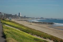 Santa Monica (loudguitars) Tags: ocean beach pacific santamonica marvinbraudebiketrail