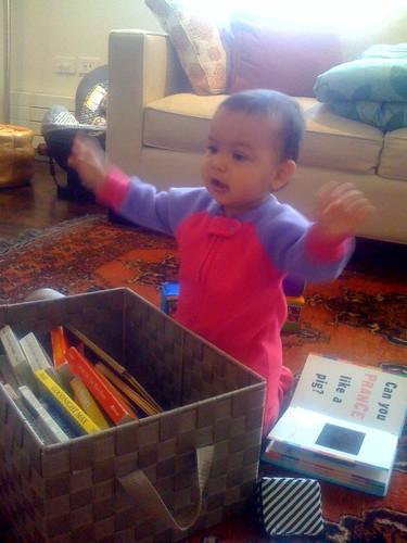 Laila conducting a symphony