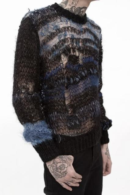 Rodarte mens knit 1