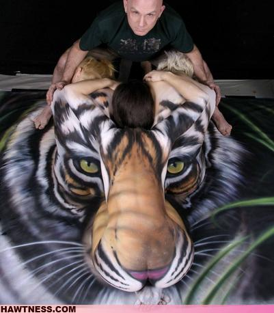 Mega cool tiger picture of the day