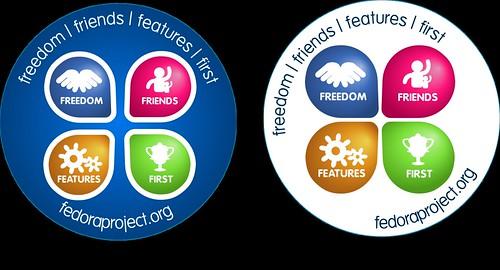 Chapas Fedora / Fedora Badges