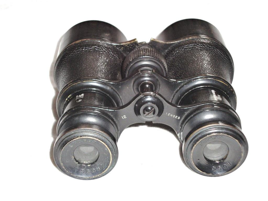 "Ross ""Officer's Binocular""""Territorial Army"" 4(?)X39 (View 1)"
